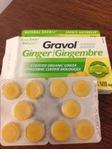 Ginger chewable gummies