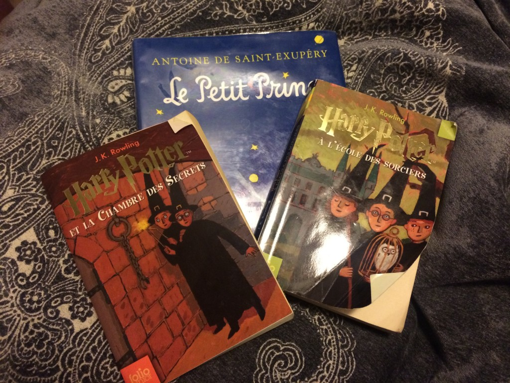 Harry Potter & Le Petit Prince in French