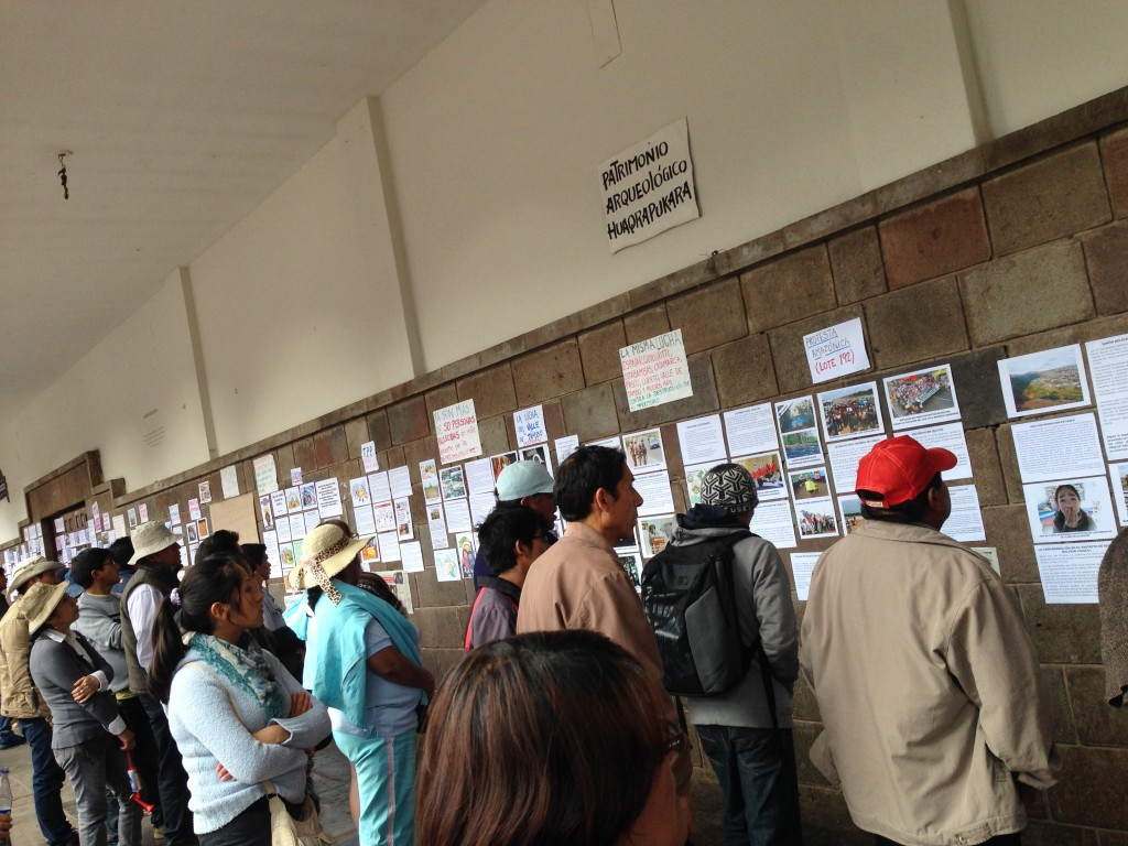 Cusco Protests